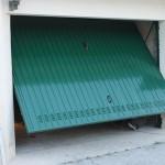 Porta Garage Basculante verde